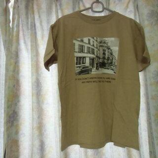 (一時受付終了)茶系 レディース Tシャツ (未使用・タグ付き)...