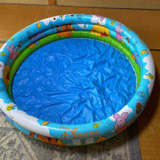 ブーさんの幼児用プール(多少難あり)
