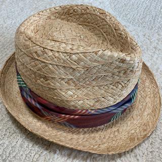 麦わら帽子 ストローハット 57.5cm