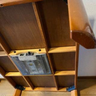 木製ローテーブル  0円!