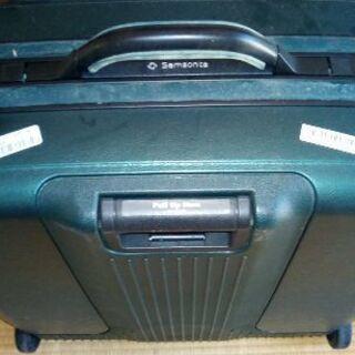 スーツケース サムソナイト カギ付き