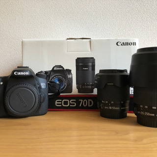 Canon EOS 70D(W) Wズームキット