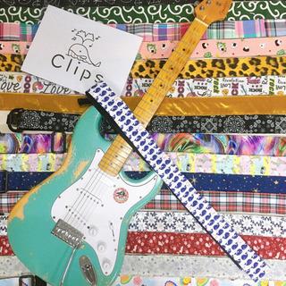 ギター用ストラップ制作いたします!