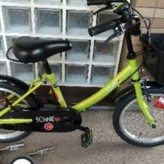 16インチ子供用自転車コマ付