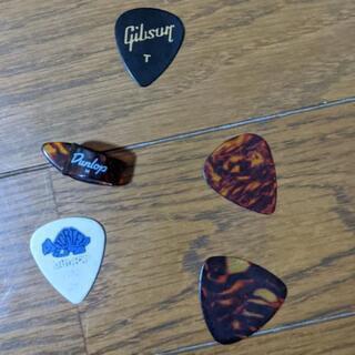 ギターピックセット#gibson tゲージ5点セット #DUNR...