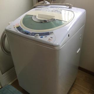日立洗濯乾燥機【使用感あり・説明書付】