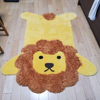 ライオンのラグマット