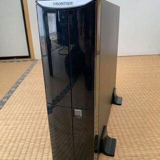 【ネット決済・配送可】中古デスクトップパソコン(キーボード・24...