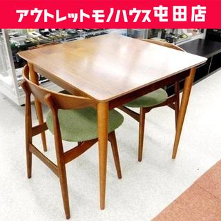 値下げしました。NOCE/ノーチェ 2脚付ダイニングテーブルセッ...