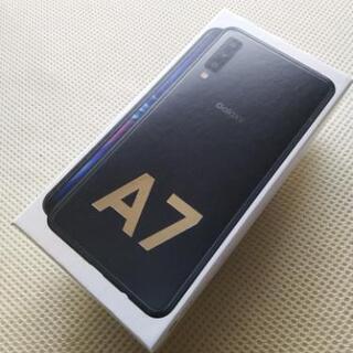 (新品未使用未開封) Galaxy A7 SIMフリー ブラック...