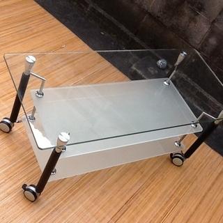 【値下げで1500円】ガラステレビ台 素敵なお品 どうぞ − 京都府