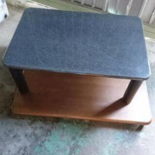 ☆木製ローテーブル黒幅90☆