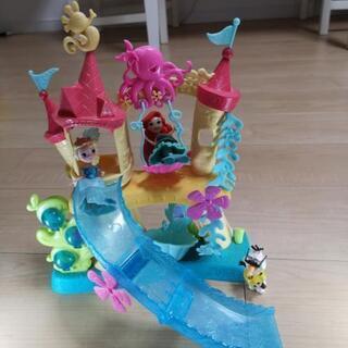 ディズニー アリエルのお城