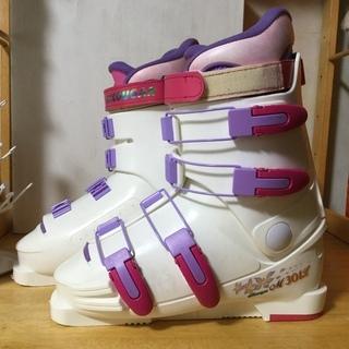 女性用スキーブーツ 美品