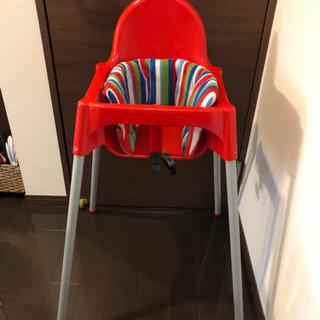 IKEAベビーチェアの画像