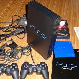 再値下げしました PlayStation 2 本体+標準セ…