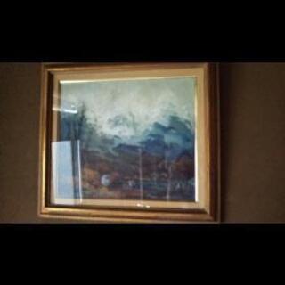 風景絵画 2種