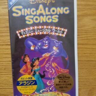【新品未開封】SING ALONG SONGS 6 英語版 VH...