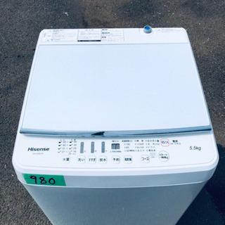 ✨高年式✨980番 Hisense✨全自動電気洗濯機✨HW-G5...
