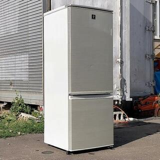 2ドア冷蔵庫◆SHARP◆2013年製◆保証付き◆配送設置無料!!