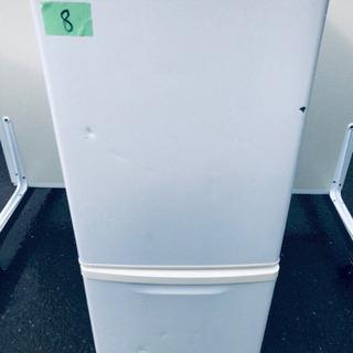 8番 Panasonic✨ノンフロン冷凍冷蔵庫✨NR-B144W...