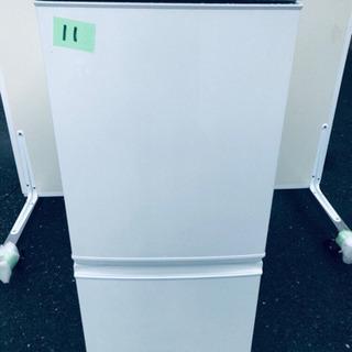 ✨高年式✨11番 シャープ✨ノンフロン冷凍冷蔵庫✨SJ-D14B...