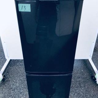 13番 三菱✨ノンフロン冷凍冷蔵庫✨MR-P15T-B‼️
