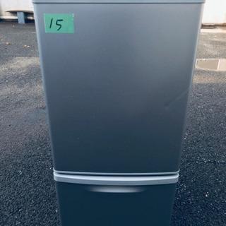15番 Panasonic✨ノンフロン冷凍冷蔵庫✨NR-B144...