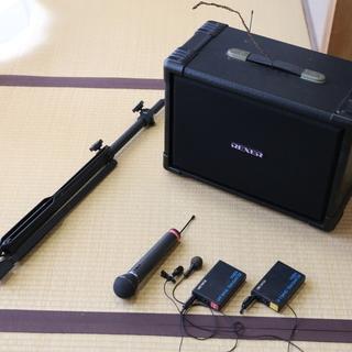 ワイヤレススピーカーシステム REXER VXR-802A(スピ...