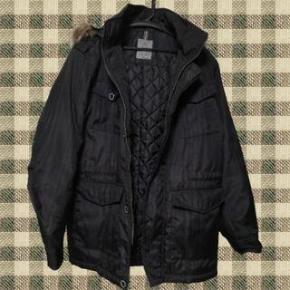 黒色ジャンパー 秋冬物