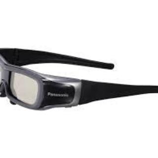 【新品・未使用品】Panasonic 3Dメガネ 2個セット 『...