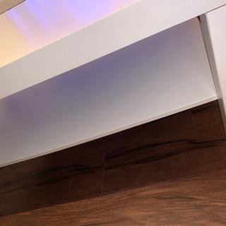 木製ローテーブル(ホワイト)