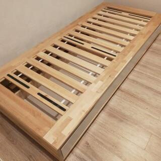 IKEA ベッド (シングル、MANDAL)