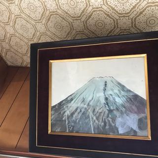 絵画 富士山?