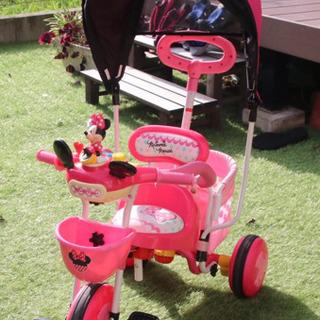 ミニーマウス 三輪車