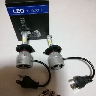 H4 LEDヘッドライト 白 T10タイプ Led 5個セット❕