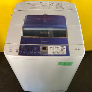 ①‼️大容量‼️731番 HITACHI✨日立全自動電気洗濯機✨...