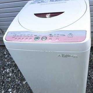 SHARP 6.0kg 全自動洗濯機 ES-GE60L-P 20...