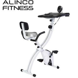 アルインコ フィットネスバイク エアロバイク ながらバイク 折り...