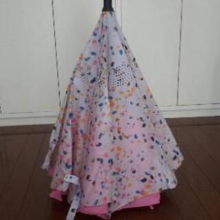 晴雨兼用逆さ傘(レディース)
