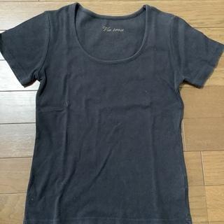 黒無地 ティシャツ