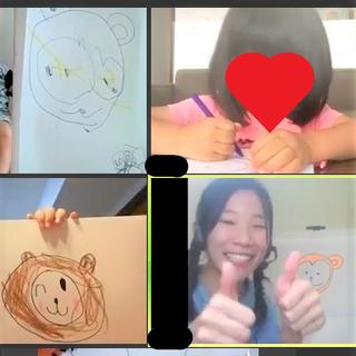 [オンライン教室]エイゴお絵かきのじかんの画像