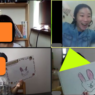 [オンライン教室]エイゴお絵かきのじかん − 神奈川県