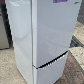 ハイセンス 【右開き】130L 2ドアノンフロン冷蔵庫 エディオ...