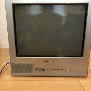 東芝15型ブラウン管テレビ
