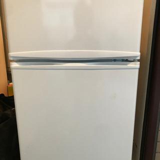 冷凍冷蔵庫 小型 直冷式 2ドア 85L  8月16日まで