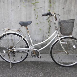 26インチの変則自転車の画像