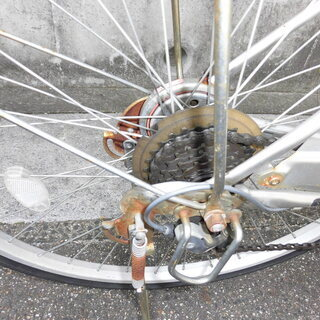 26インチの変則自転車 - みよし市