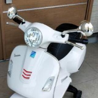電動乗用バイク ベスパ