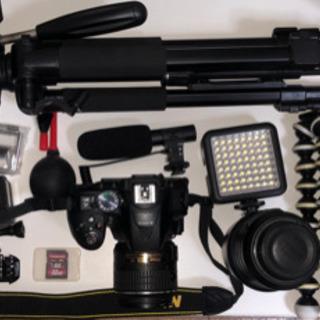 Nikon D5300 ダブルレンズキット & GoPro その...